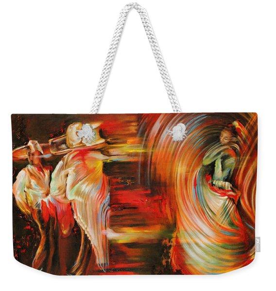 Folklore Weekender Tote Bag