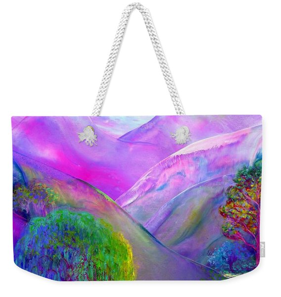 Love Is Following The Flow Together Weekender Tote Bag
