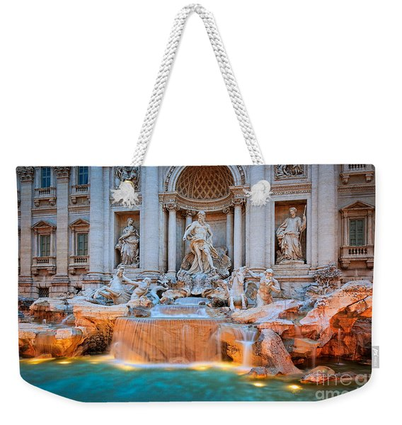 Fontana Di Trevi Weekender Tote Bag