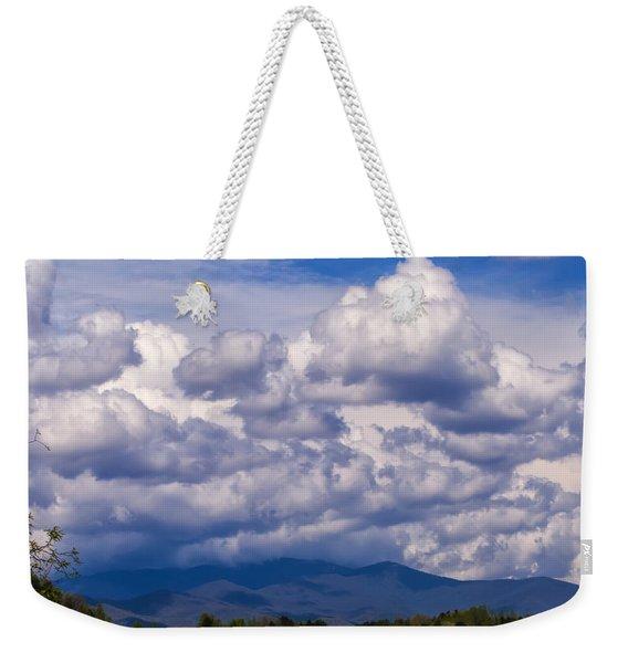 Fontana Lake Storm 2 Weekender Tote Bag