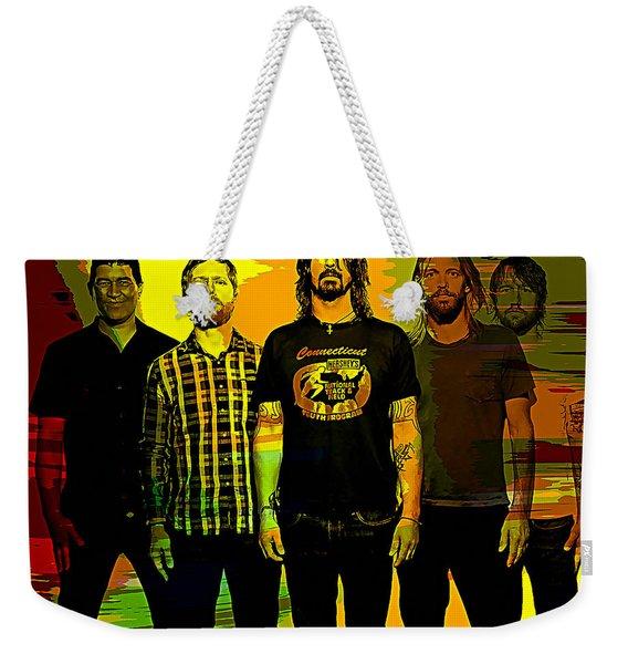 Foo Fighters Weekender Tote Bag