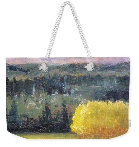 Foot Of The Mountain Weekender Tote Bag
