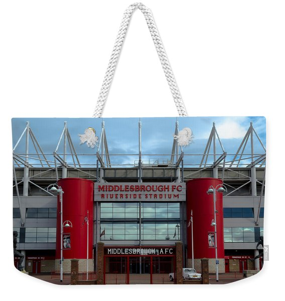 Football Stadium - Middlesbrough Weekender Tote Bag
