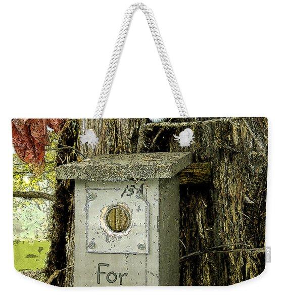For Rent Weekender Tote Bag