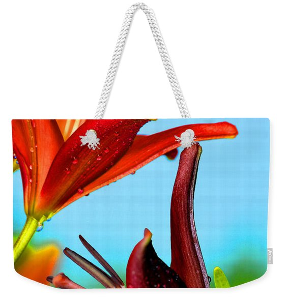 For The Love Of Lillies Weekender Tote Bag