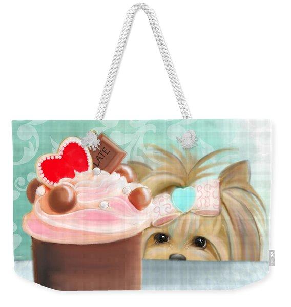 Forbidden Cupcake Weekender Tote Bag