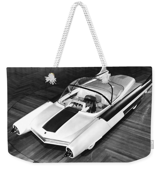 Ford Fx-atmos Concept Car Weekender Tote Bag