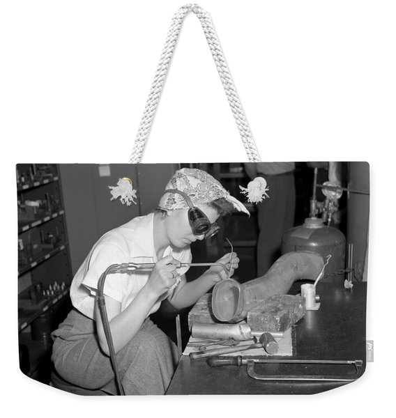 Ford Willow Run Bomber Plant. Weekender Tote Bag