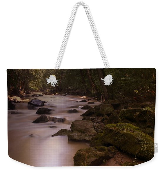 Forest Creek Weekender Tote Bag