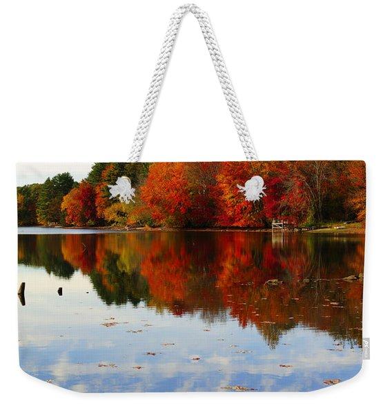 Forever Autumn Weekender Tote Bag
