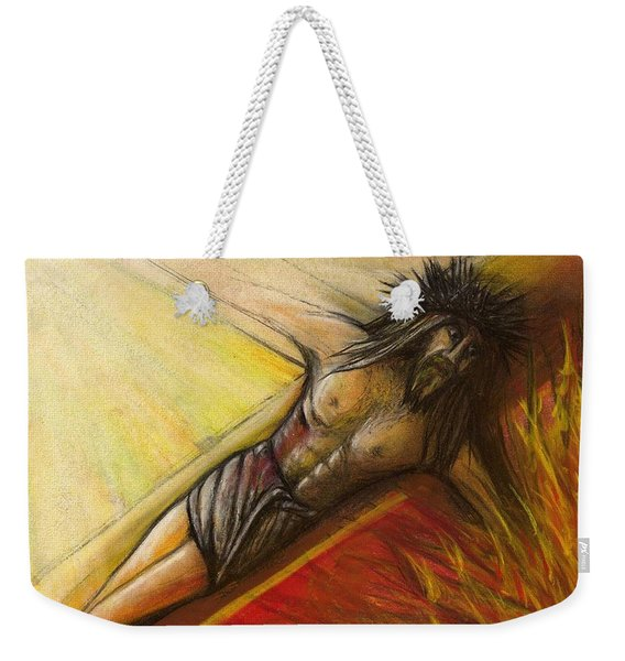 Psalm 22 Forsaken Weekender Tote Bag