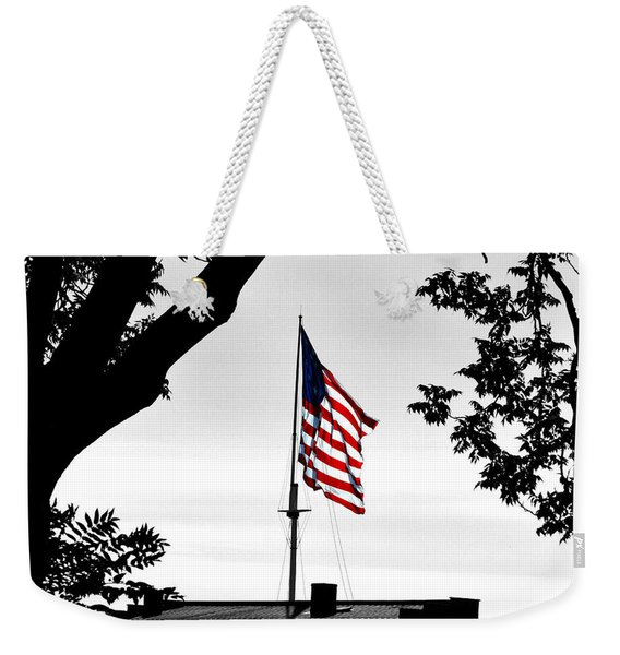 Fort Mchenry Flag Color Splash Weekender Tote Bag
