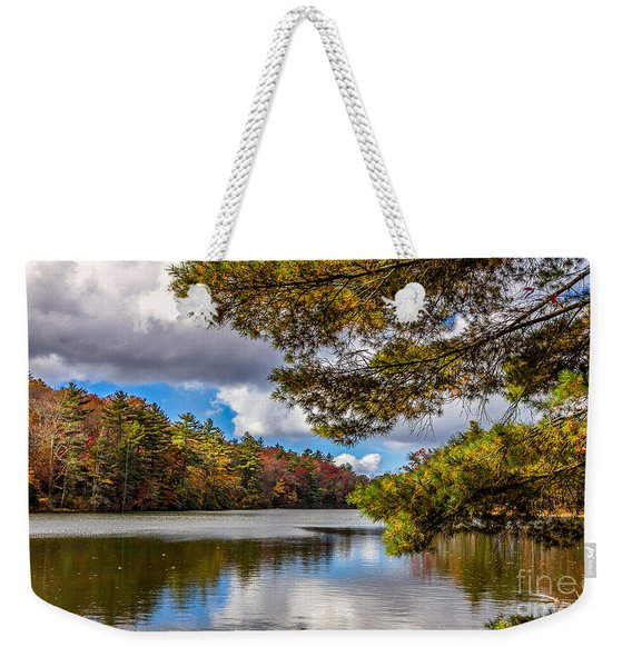 Fort Mountain State Park Weekender Tote Bag