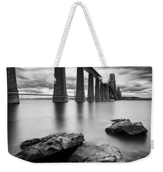 Forth Bridge Weekender Tote Bag