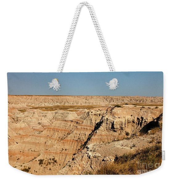 Fossil Exhibit Trail Badlands National Park Weekender Tote Bag