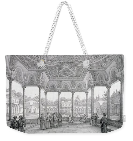 Fountain And Kiosk Of The Garden Of Choubrah Weekender Tote Bag