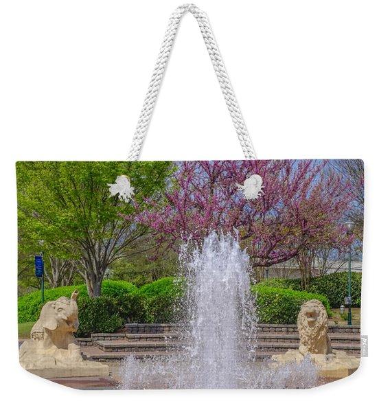 Fountain In Coolidge Park Weekender Tote Bag