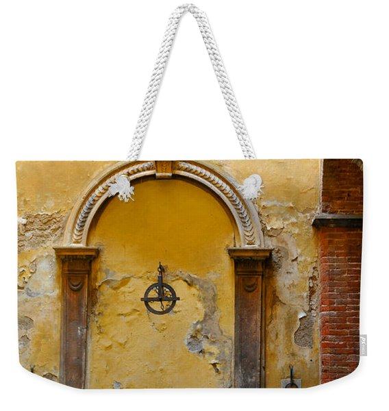 Fountain In Sienna Weekender Tote Bag