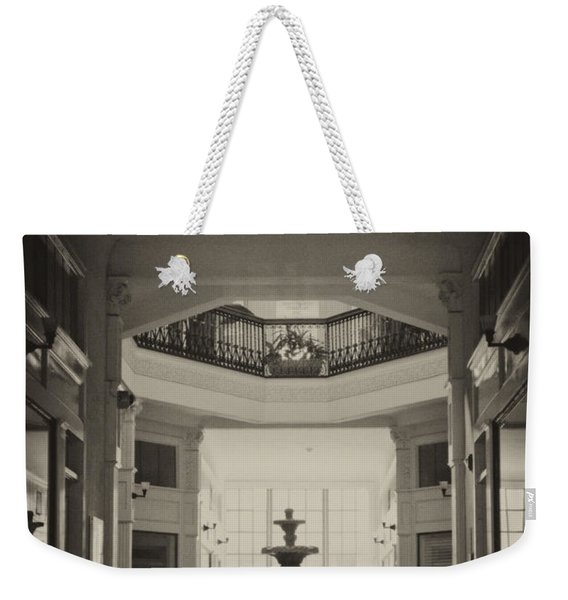 Fountain In The Light Weekender Tote Bag