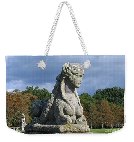 Fountainebleau Twin2 Weekender Tote Bag