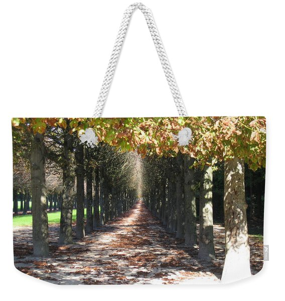 Fountainebleau - Under The Trees Weekender Tote Bag