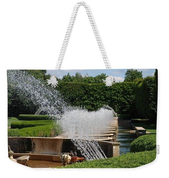 Fountains Weekender Tote Bag