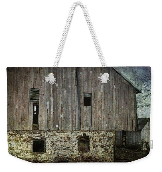 Four Broken Windows Weekender Tote Bag
