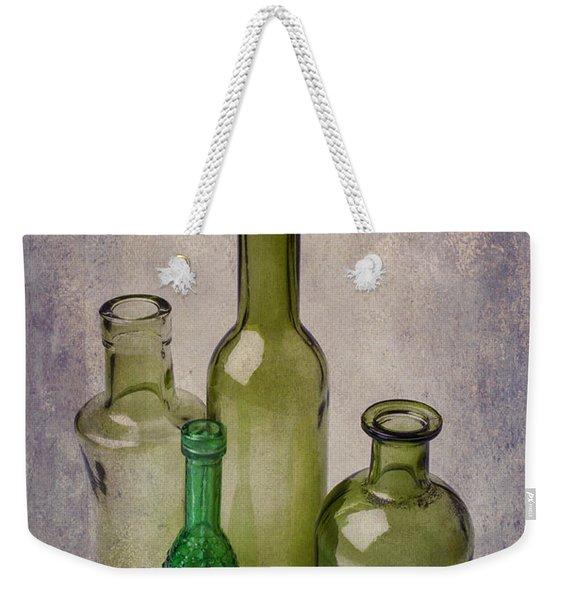 Four Green Bottles Weekender Tote Bag