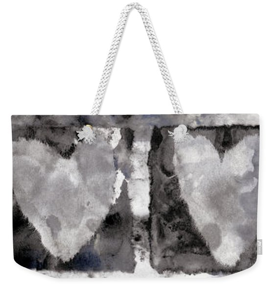 Four Hearts Weekender Tote Bag