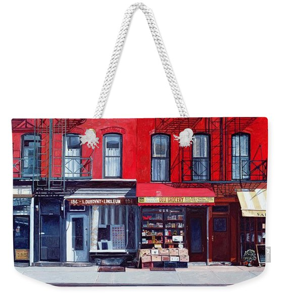 Four Shops On 11th Ave Weekender Tote Bag