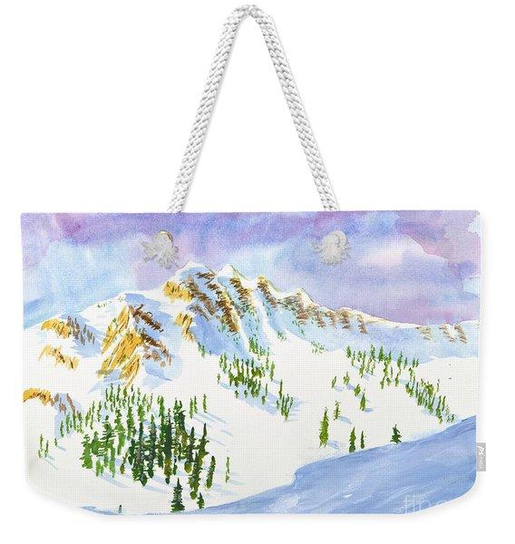 Four Sisters At Snowbasin Weekender Tote Bag