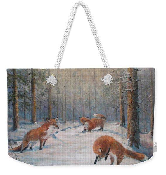 Forest Games Weekender Tote Bag
