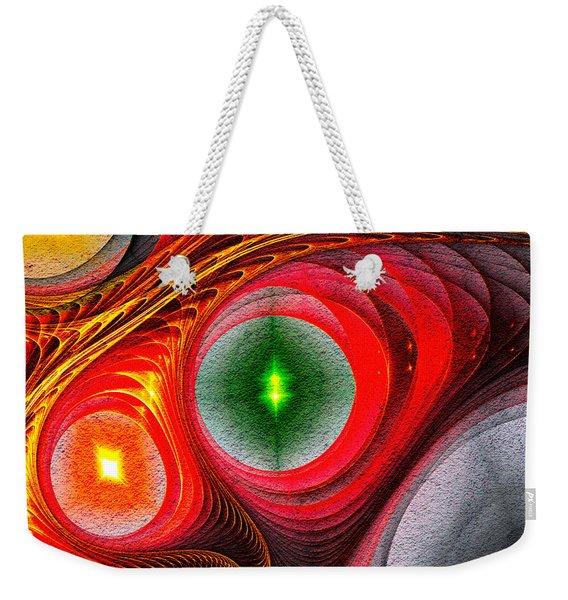 Fractal 86 Weekender Tote Bag