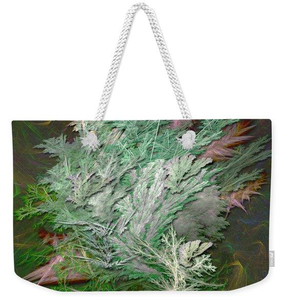 Fractal Ferns Weekender Tote Bag