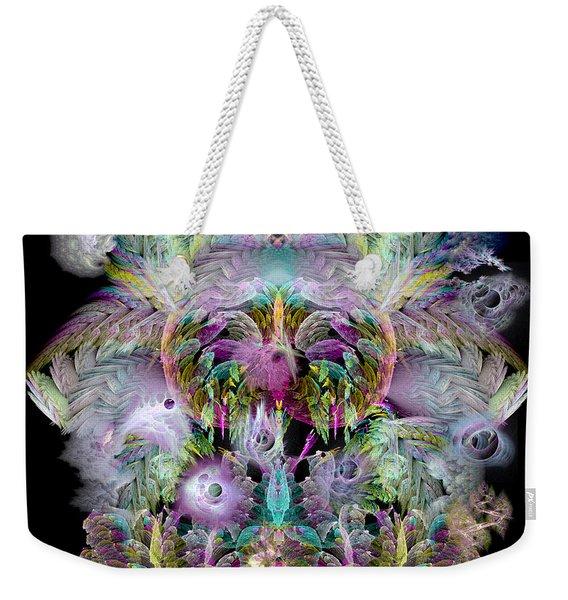 Fractal Grasses Weekender Tote Bag