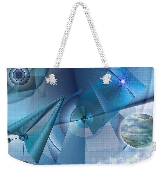 Interdimensional Weekender Tote Bag
