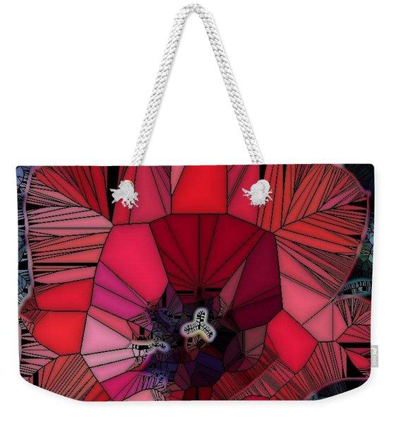 Fragile Flower Weekender Tote Bag