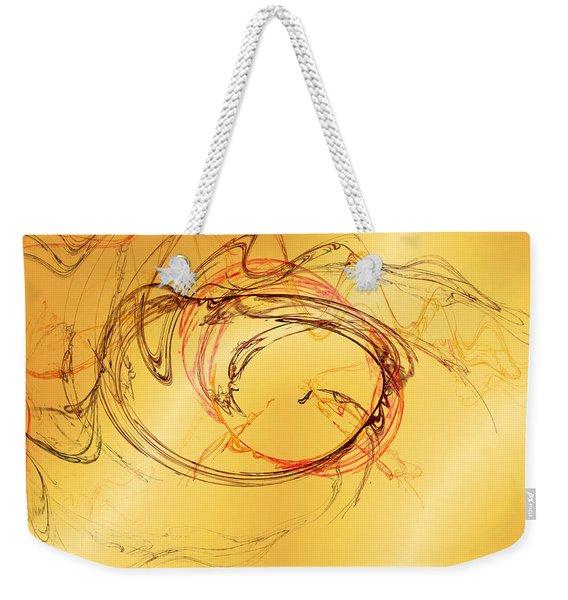 Fragile Not Broken Weekender Tote Bag