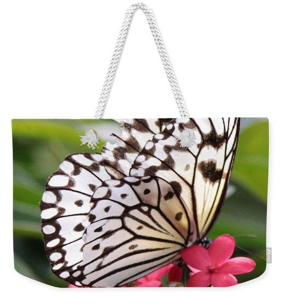 Fragile Wings Weekender Tote Bag