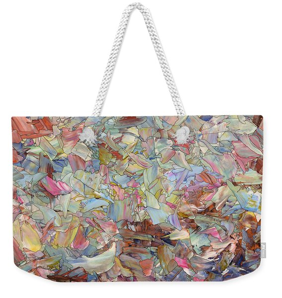 Fragmented Hill Weekender Tote Bag