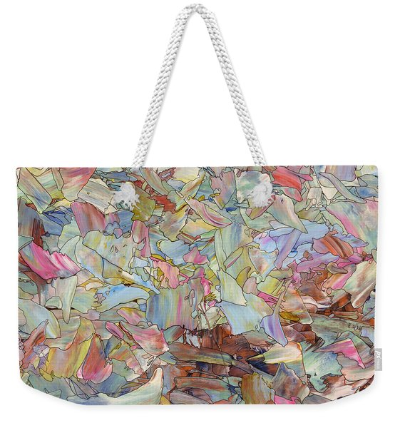 Fragmented Hill - Square Weekender Tote Bag