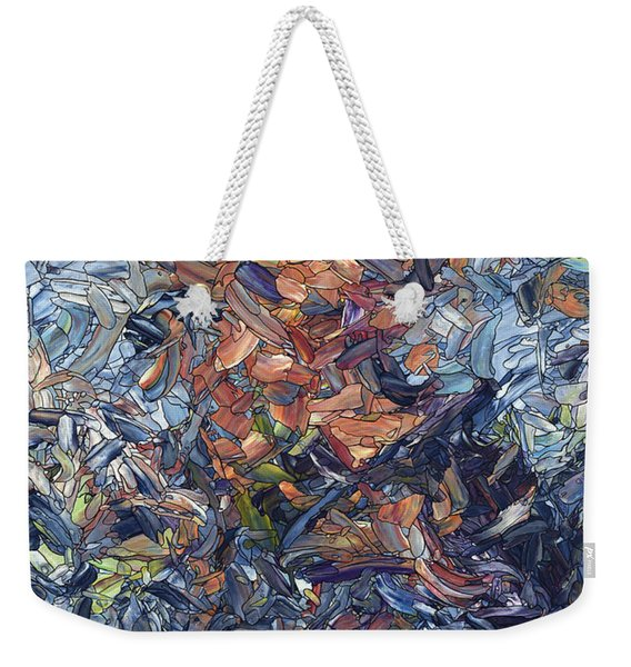 Fragmented Man Weekender Tote Bag