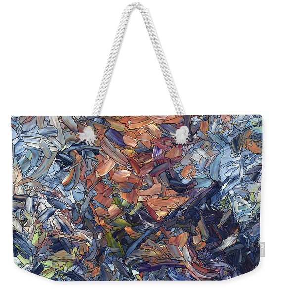 Fragmented Man - Square Weekender Tote Bag