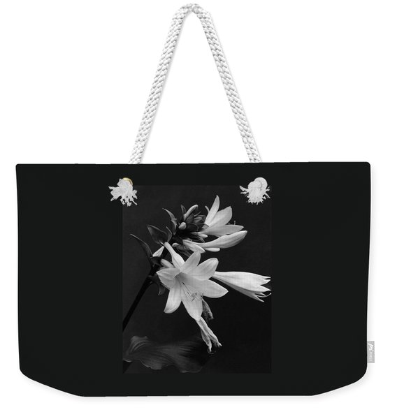 Fragrant Plantain Lily Weekender Tote Bag