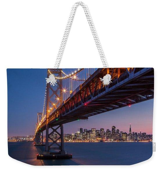 Framing San Francisco Weekender Tote Bag