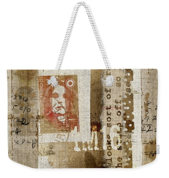 France 1m16 Collage Weekender Tote Bag