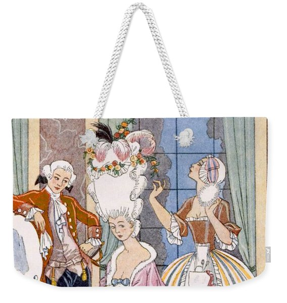 France In The 18th Century Weekender Tote Bag