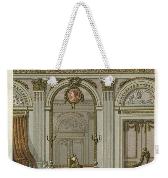 France Interior, C1780 Weekender Tote Bag