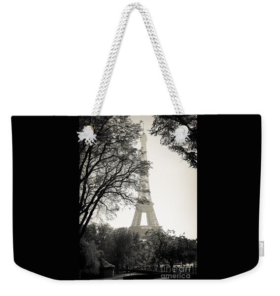 The Eiffel Tower Paris France Weekender Tote Bag