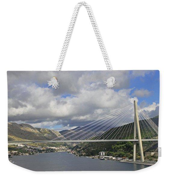 Franjo Tudman Bridge Weekender Tote Bag